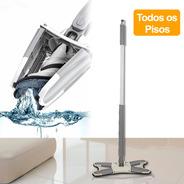 X Mop Clean 360 Giratório + Grátis Mini Escova De Limpeza