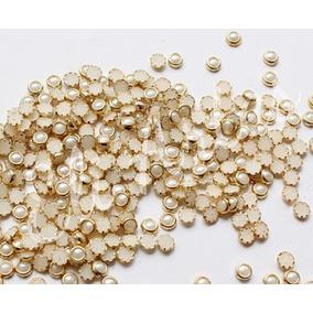 Meia Pérola C/ Borda Cerâmica C/ 10.000un. - Tam. 3mm