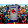 Pijamas Varon Perry - Angry Birds - Phineas Y Ferb - Spiderm