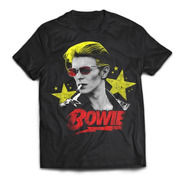 Camiseta David Bowie Black Star Rock Activity