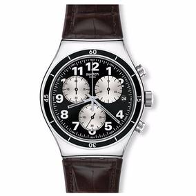 Reloj Swatch Browned Yvs400 Hombre Envio Gratis