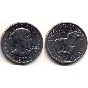 Moeda Estados Unidos 1979 1 Dollar Susan B Anthony