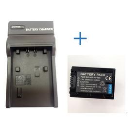Bateria Sony Np-fv100 + Carregador P/ Sony Np-fv100