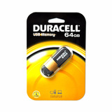 Pendrive 64gb Duracell Usb 2.0 Capless Tipo Slider