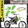 Kit Plasticos Acerbis Kawasaki Kx 125 250 94 - 98 Powertech