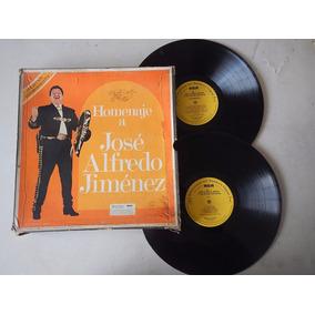 Discos Lp. Homenaje A Jose Alfredo Jiménez 4ele