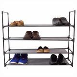 Zapatera Con 4 Niveles Para 16 Pares De Zapatos