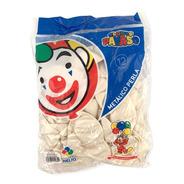 Bolsa Con 50 Globos Metálico Perla Tamaño 12 Pulgadas Payaso