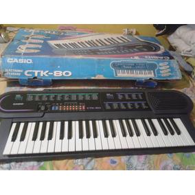 Organo Electronico Y Pilas Casio Ctk-80