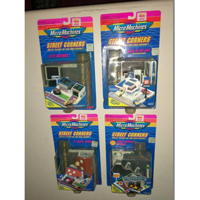 Micro Machines Street Corners Blister Cerrado Origin Jretro
