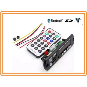 Placa Usb Decodificador Bluetooth Mp3 Fm Aux Pen Drive 12v