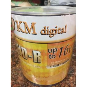 Dvd R , Km Digital 16x 4,7gb/120min