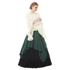Rolecos Mujer Retro Renacimiento Vestido Medieval La Trom. 2a0101c0f2fc