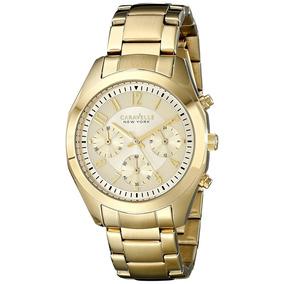Reloj Caravelle 44l118 Dorado