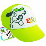 Boné Infantil Doki Discovery Kids Verde Butterfly