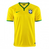 Camiseta Brasil Masculina Seleção 2014 - Super Oferta