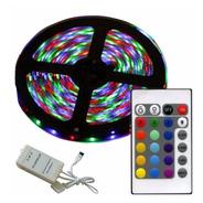 Cinta Led 5 Metros Multicolor Control Remoto Rgb - Nice Home