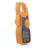 Alicate Amperimetro Digital Multímetro Com Beep Profissional