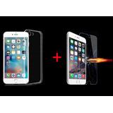 Funda Tpu Transparente Iphone 7, Iphone 7 Plus + Cristal