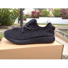 Zapatos adidas Yezzy Boost 350 Negrosy Beige Originales
