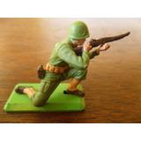Soldado U S A Segunda Guerra Miniatura 2 (made In England)