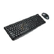Teclado/mouse Logitech Mk120 Negro Alambricos Usb Pc / Windo