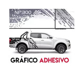 Stickers Np300 Estilo Raptor Para Camioneta Nissan Np300