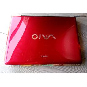 Sony Vaio Vgn-cr260f Roja (usada Pero En Buenas Condiciones)