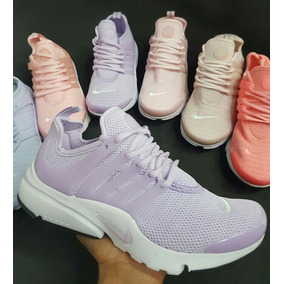 tenis nike mujer color lila