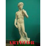 Estatuas De Yeso, Imágenes, David, De 60 Cm. De Altura