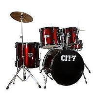 Bateria Instrumento Musical Planet City Melhor Preço