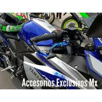 Palancas Lujo Yamaha R3 Competencia Manijas Accesorio Freno
