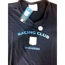 Remera Dama Modal Oficial Racing Club Avellaneda Tl Falugan
