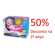 Promoção Boneca Babys Collection Banheira 412