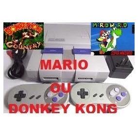 Super Nintendo Original, Snes + 1 Jogo Mario Original
