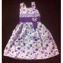 Vestido Para Criança De 2 A 4 Anos