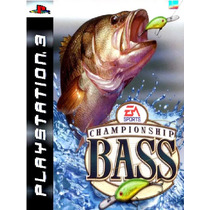 Championship Bass Pescaria Ps3 Psn Midia Digital Original