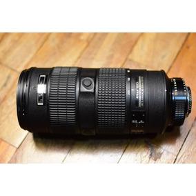 Lente Nikon Nikkor 80-200mm 2.8 Ed Af-s Não 70-200mm 2.8g