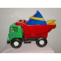 Camion Volteo Plastico