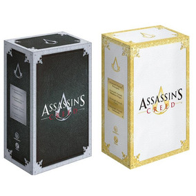 Box Assassins Creed 1 E 2 (8 Livros) - Novos Lacrados
