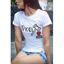 T-shirts Baby Look Cursos Direito Cpcu00296