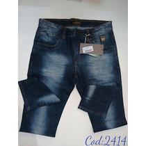 Calça Jeans Oppnus Masculina Tradicional 2414