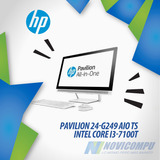 Hp All In One I3 7100+ 12gb Ram_ 1tb+ 24 Pulg Touch+ Video H
