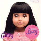 Witty Girls Lucy Muñeca 45cm /18 Pulg American 2017