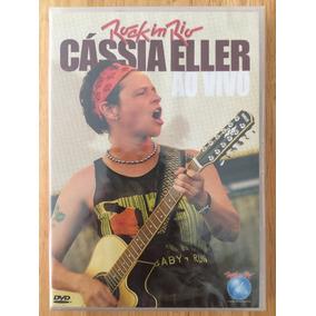 Dvd Cássia Eller Rock In Rio Ao Vivo (2006) 1ª Edição Novo!!