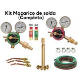 Kit Para Aparelho De Solda Ppu Oxigênio E Acetileno
