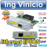 Modulo De Red Epson Ub-e03 Interfaz Ethernet Tm-u220 T81 U28