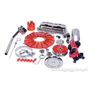 Kit De Estetica De Motor Rojo Empi