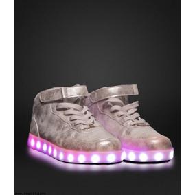 Zapatillas Luces Led Mujer Hombre 47 Street Recargab 35 A 40