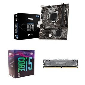 Kit - I5 8400 + 8gb Crucial + H310m Pro-vd